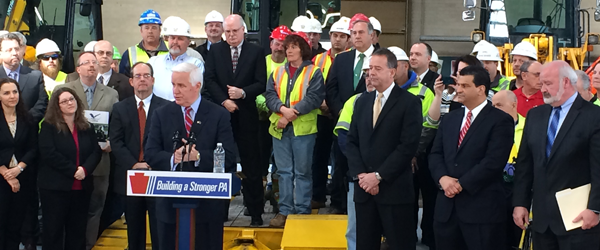 "Corbett unveils ""Decade of Investment"" for transportation"