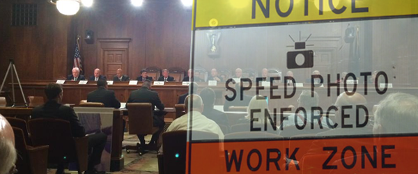 Automated Work Zone Enforcement Advances in the Senate