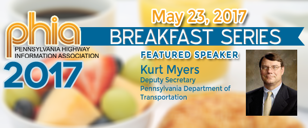 Kurt Myers to Speak at May 23 PHIA Breakfast