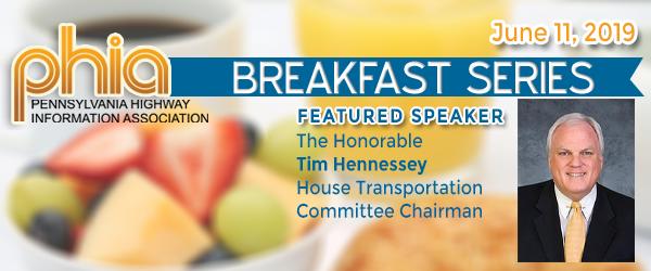 Hennessey to Speak at June 11 PHIA Breakfast